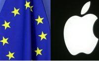 EU hits Apple with music streaming charge in boost for Spotify