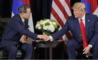 Trump says meeting with Kim may 'happen soon'