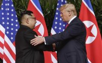 Trump floats summit possibility for status quo with NK