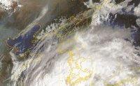Typhoon hits Korea