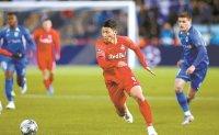 Salzburg beat Genk, Hwang scores goal