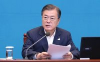 Moon vows Korea to play role in global fight against infectious diseases