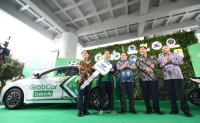 Hyundai Motor, Grab partner on EV-based car hailing service in Indonesia