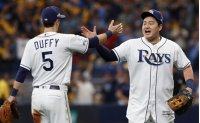 Rays' Choi Ji-man blasts 1st career postseason home run