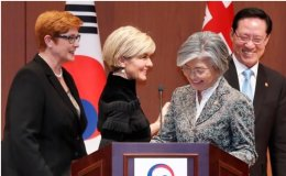 South Korea, Australia to hold ministerial talks