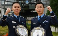 Captains lauded for watertight airspace control missions