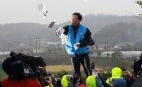 Police raid office of anti-North Korea activist