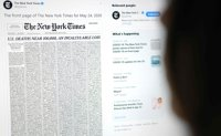 NYT devotes entire front page to list of COVID-19 victims