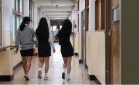 Returning to school as pandemic rumbles on [PHOTOS]