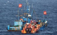 2 Chinese boats seized for alleged illegal fishing