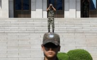 Gunshots fired from North Korea hit South Korean DMZ guard post