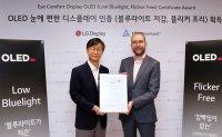LG receives OLED award