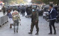 Myanmar security forces open fire to disperse protesters in Mandalay