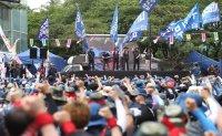 Hyundai Heavy shareholders OK split-up plan amid harsh labor opposition