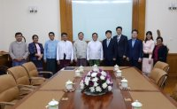 Meeting with Myanmar authorities