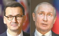 Polish PM hits back at Putin over WWII 'lies'