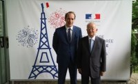 Bastille Day celebration in Seoul