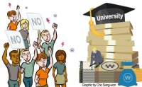 Int'l students complain of higher tuition rise than Koreans