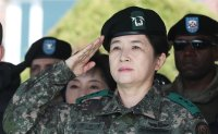 Country's 1st 2-star female general heads Aviation Operations Command