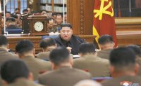N. Korean leader meets top military officials amid tension with US