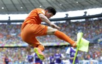 Dutch stun Mexico, Costa Rica survives Greece