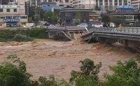 At least two people killed as Typhoon Maysak hits waterlogged Koreas