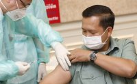 Cambodia launches COVID-19 vaccinations with China's Sinopharm jab