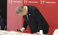 Tokyo Olympics chief quits, apologizes again over sexist remarks