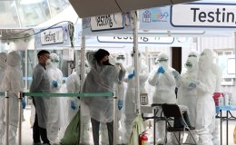 Korea reports 125 new virus cases, total now at 9,786