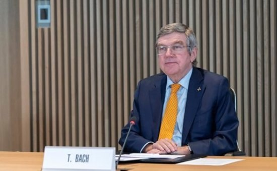 Olympic President Bach to visit Japan in May, meet PM Suga: media