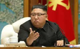 North Korean leader presides over politburo meeting in 1st public appearance in 25 days