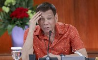 Philippines' Duterte wants government-to-government deal for coronavirus vaccines