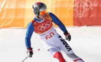 South Korean alpine skier ranks 44th