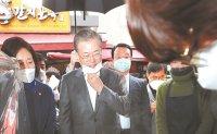 President visits Namdeamun Market