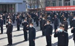 North Korean workers stage pep rallies for new 5-year economic development plan