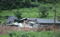 Four dead, one missing in landslide triggered by heavy rain