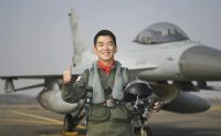 KF-16 pilot honored as Air Force's Top Gun