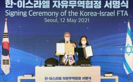 Israel signs FTA with Korea, expands technological cooperation