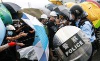 Clashes as Hong Kong marks China handover anniversary [PHOTOS]