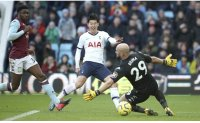 Son stoppage-time Spurs strike clinches win at Aston Villa