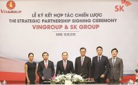 SK Group acquires 6.1% stake in Vietnam's Vingroup