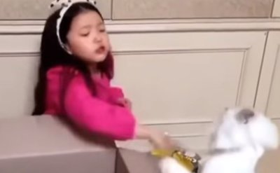 Child actress accused of animal abuse in 'unboxing video'