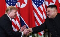 Trump says he will meet with Kim Jong-un 'at some point'