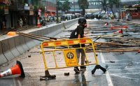 Korea issues travel warning for protest-hit Hong Kong