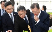 Moon vows to promote agricultural, fishing sector