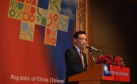 Taiwan addresses freedom, democracy in row with China