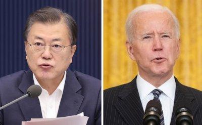 Vaccine, chips, North Korea on agenda for Seoul-Washington summit