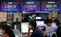 Seoul stocks dip more than 1% on Wall Street plunge