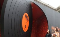 Hybrid exhibition rediscovers value of vinyl