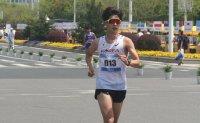 Racewalker elated for belated medal, eyes Tokyo Olympics